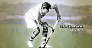 Major Dhyan Chand Biography in Hindi