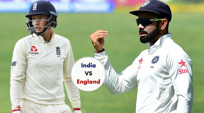 England Vs India test series