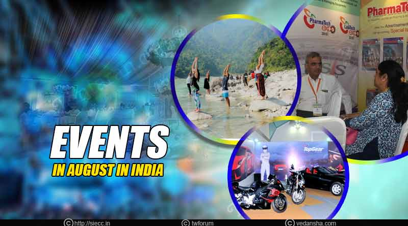events in august in india