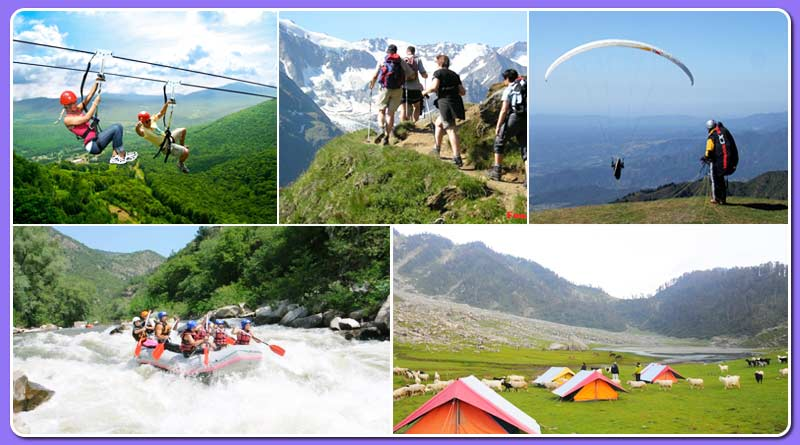 Famous adventure sports in Uttarakhand