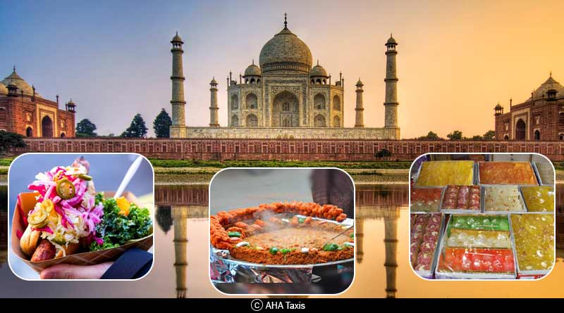 Famous places for street food in Agra