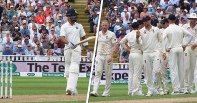 India vs England firs test match highlights