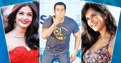 Salman Khan affairs list