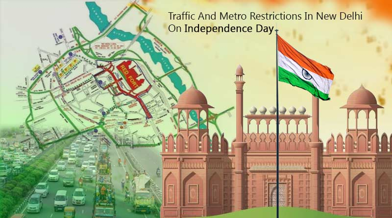 Traffic restrictions in Delhi