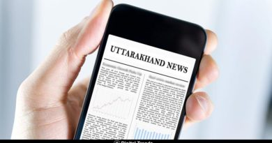 Uttarakhand Aaj Ki Khabar in Hindi