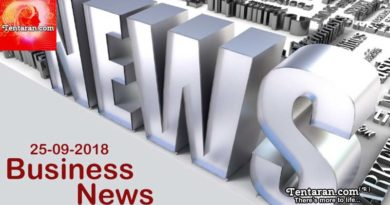 India Business News 25th September 2018