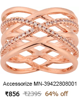 accessorize brass ring