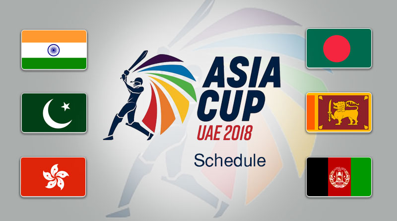 Asia Cup2018 Schedule