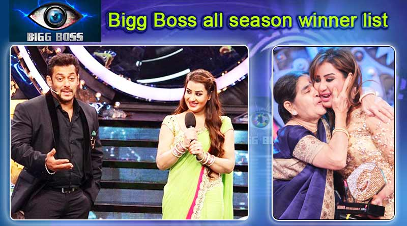 big boss hindi winners till date