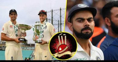 England Vs India Test Series Complete