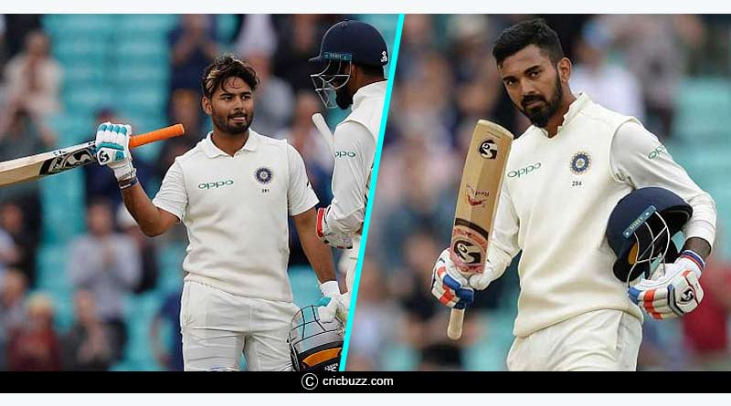 KL Rahul and Rishab pant