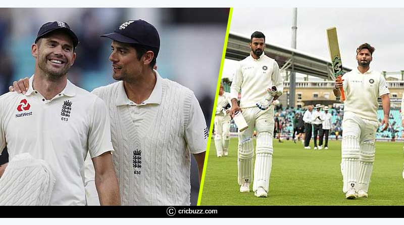 England Vs India Test