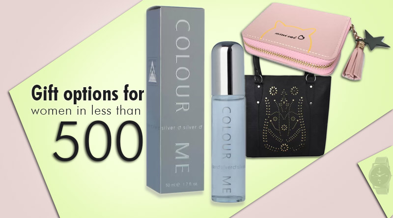 gift options for women in less than 500