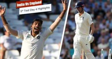 India Vs England Fifth Test Day 4 Highlights