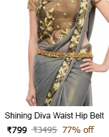 shining waist hip belt kamarband