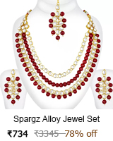 spargz necklace sets