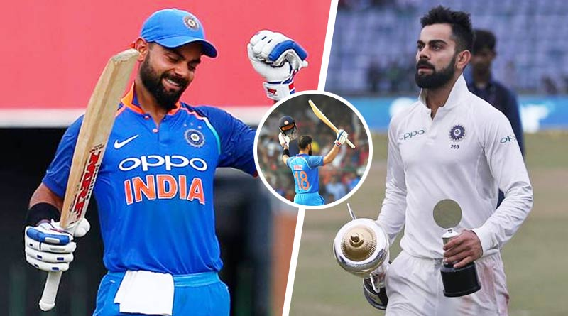 the versatile captain virat kohli