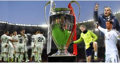 Matchday 1 of the champions league