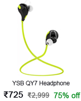 ysb headphone