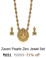 zaveri necklace sets