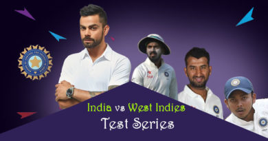 India squad for India vs West Indies Test Series
