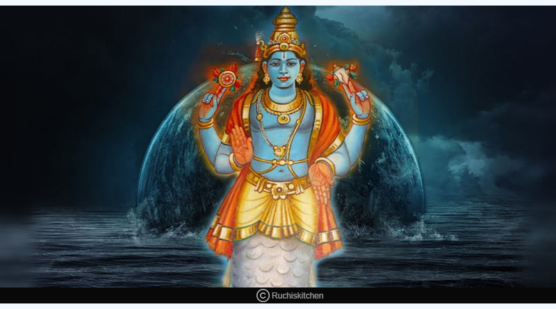 the tale of Vishnu's Matsya Avatar