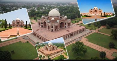ten interesting facts about Humayun's tomb