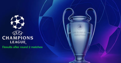 champions league 2018-19 results after round 2 matches