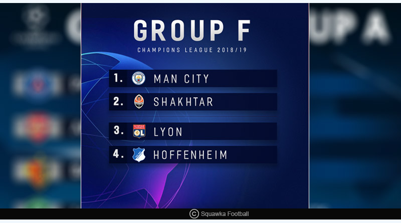 champions league group f