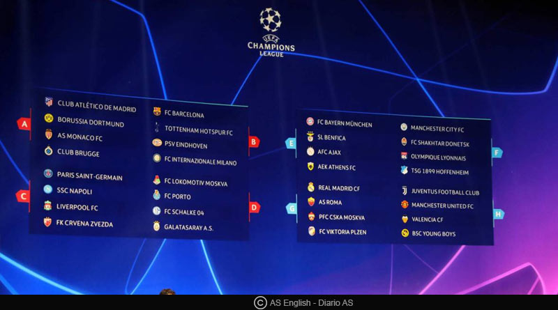 Europa League 2018-19 all results