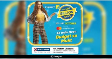 Flipkart Big Billion Days Sale October 2018