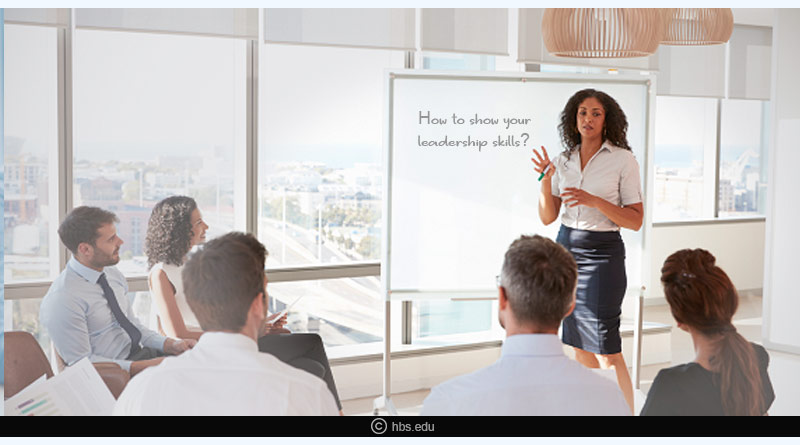 how to show your leadership skills