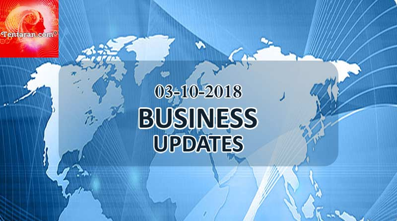 india business news 3rd october 2018