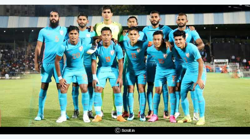 india vs china international friendly football india team