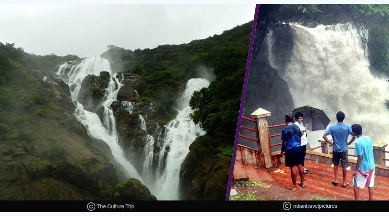Pandava caves and Arvalem Waterfalls