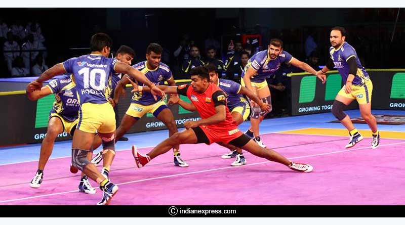 Pro Kabaddi League match highlights