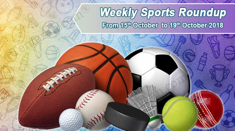 Weekly Sports Roundup from October15-19