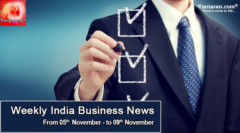Latest India Business News 10th November 2018