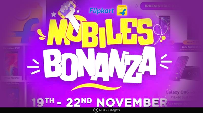 Flipkart mobile bonanza sale starts November 19 2018