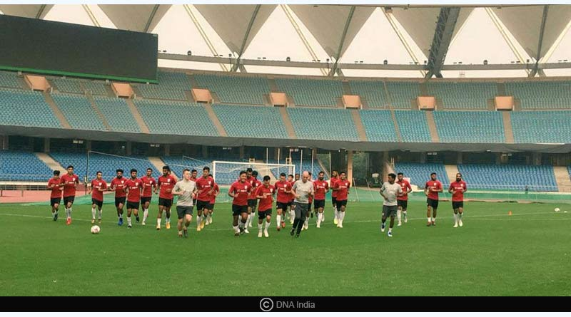 India Vs Jordan International football friendly match