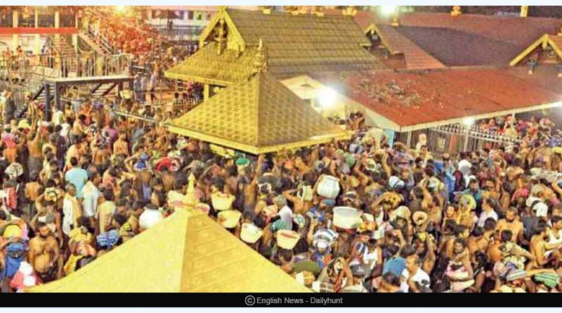 Sabarimala temple protests