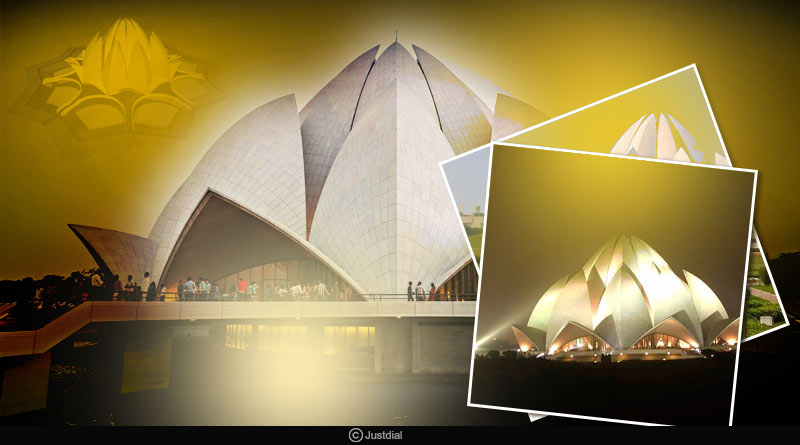 Amazing facts about lotus temple