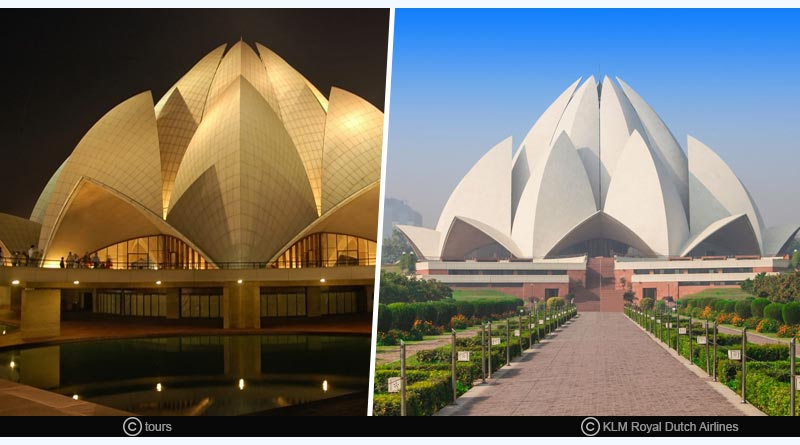 facts about lotus-temple