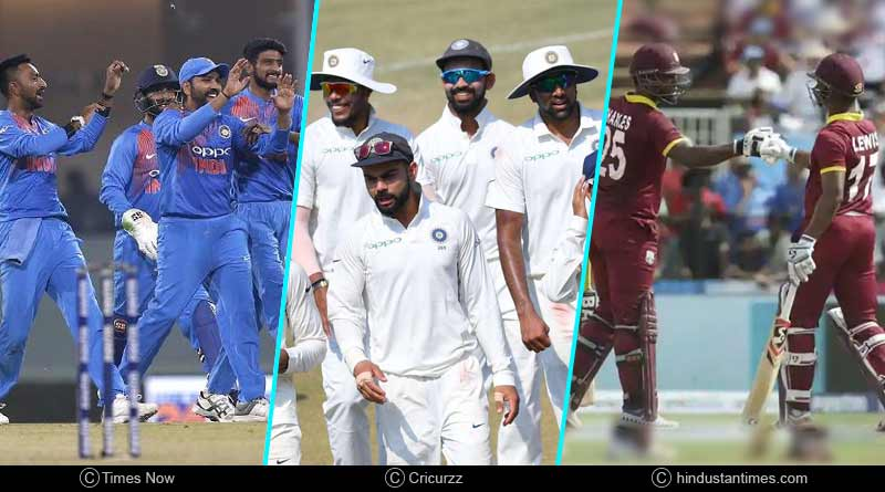 India Vs West Indies 2018 all match highlights