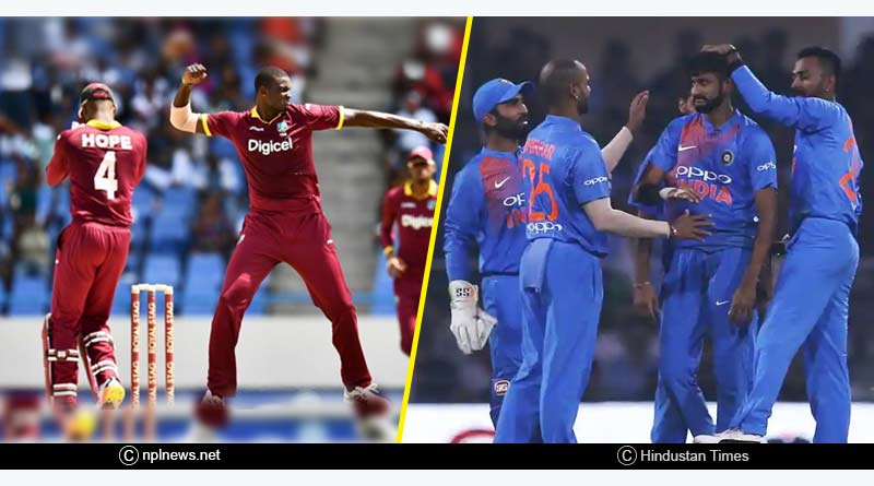 India Vs West Indies 2018