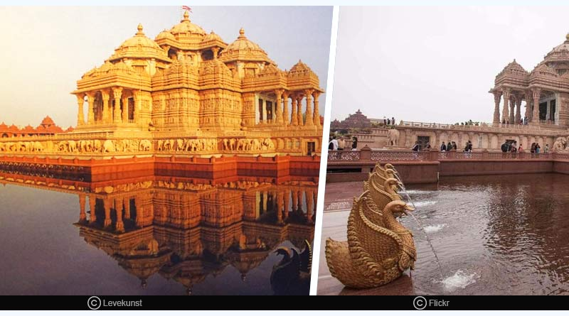 Amazing facts about Akshardham temple