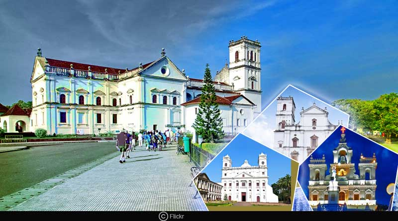 The best churches of Goa