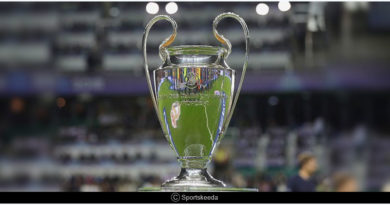 UEFA Champions League 2018-19 group standings