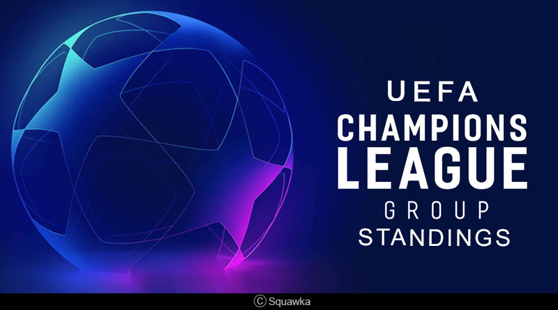 uefa champions league 2018 19 group standings manchester city uefa champions league 2018 19 group