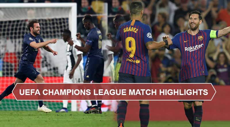 UEFA Champions League 2018-19 round 16 match highlights